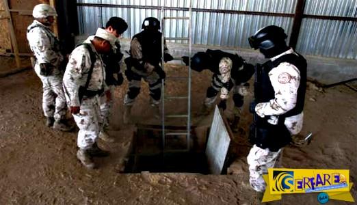 Ασύλληπτο τούνελ-ναρκωτικών στα σύνορα ΗΠΑ-Μεξικού!