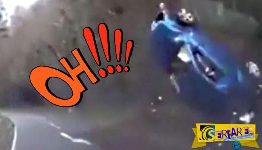 Τρομακτικό τροχαίο: Σώθηκε από θαύμα!