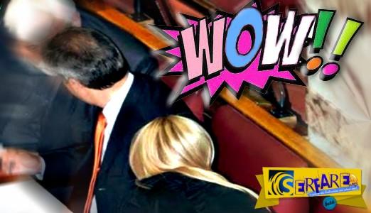 Η Έλενα Ράπτη με την απίστευτη πίσω… θέα της κόλασε και τα έδρανα της βουλής!