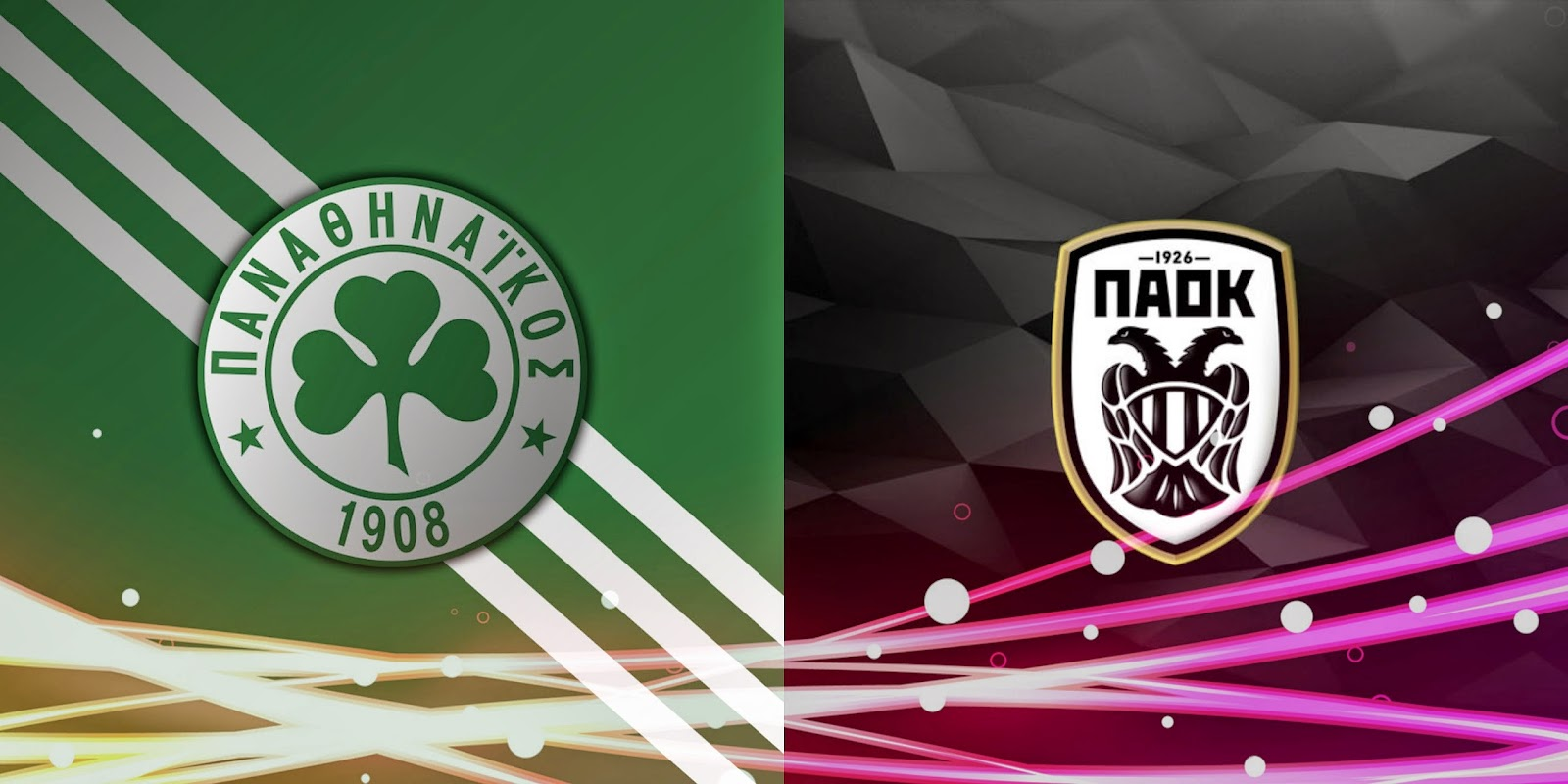 Panathinaikos - PAOK Live Streaming