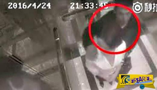 Την παρενόχλησε σ@ξοuαλικά μέσα στο ασανσέρ και... δείτε τι του έκανε!