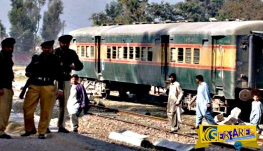 «Τρελό» τρένο με σπασμένα φρένα σκορπά τον θάνατο στο Πακιστάν!