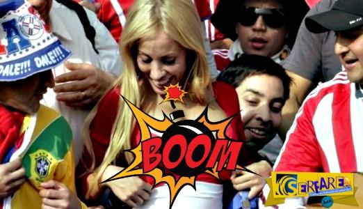 ''Βόμβες'' στις εξέδρες του Copa America!