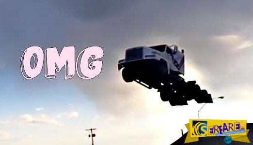 Απίστευτο Άλμα από φορτηγό – Έσπασε το ρεκόρ των 50 μέτρων!