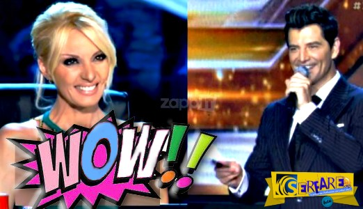 X Factor: Το εκρηκτικό μπούστο της Πέγκυς Ζήνα και το σχόλιο του Σάκη Ρουβά!