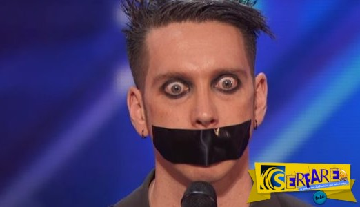 America's Got Talent: Ο παράξενος τύπος που καταχειροκροτήθηκε χωρίς καν να ανοίξει το στόμα του!