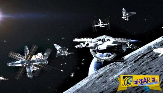 Σύμβουλος της NASA: «Εξωγήινος στόλος έχει φτάσει στη Γη και κρύβεται πίσω από τη Σελήνη»