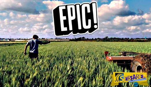Αγρότης κυνηγάει το... τρακτέρ του που πήρε τα χωράφια μόνο του!