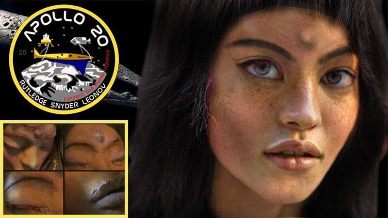 Επιχείριση Mona Lisa: Είναι αυτή η εξωγήινη γυναίκα που βρήκε η NASA στη Σελήνη;