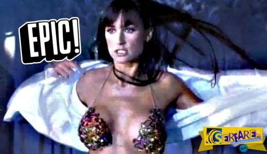 Όταν η Ντέμι Μουρ τα ΠΕΤΟΥΣΕ ΟΛΑ ακούγοντας τα Καγκέλια!