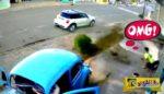 Ερχόταν πάνω του ένα αυτοκίνητο – Δείτε τι έκανε και σώθηκε την τελευταία στιγμή ...
