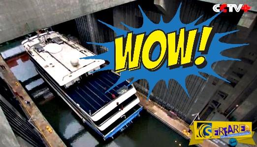 Ο πιο ισχυρός ανελκυστήρας πλοίων στον κόσμο είναι γεγονός! Αντέχει έως και 3.000 τόνους
