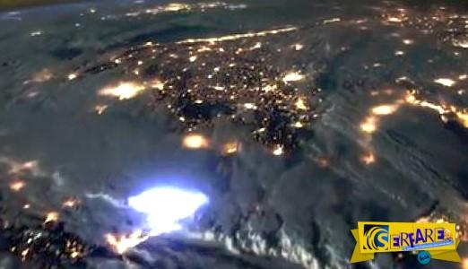 Πώς φαίνονται οι κεραυνοί από το διάστημα ...