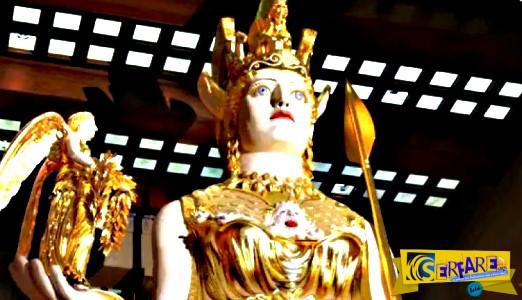 Για ποιον λόγο ο Όμηρος αναφέρει ότι η «περικεφαλαία της Αθηνάς είχε χώρο για μαχητές εκατό πόλεων»;