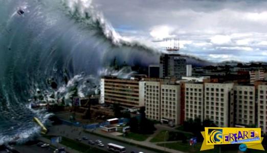 Βίντεο ντοκουμέντο από το μεγαλύτερο τσουνάμι που έχει καταγραφεί στον κόσμο!