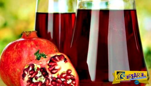 Ρόδι: Ο «θαυματουργός» χυμός που καθαρίζει τις φραγμένες αρτηρίες