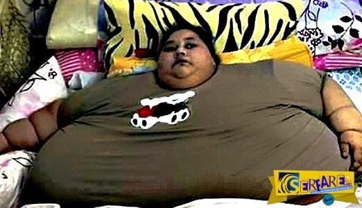 Η παχύτερη γυναίκα στον κόσμο ζεί στην Αίγυπτο και ζυγίζει 500 κιλά!