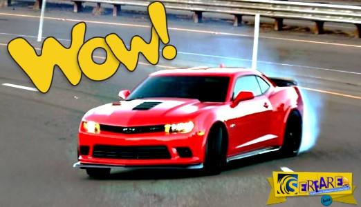 Όταν ένα muscle car αποφασίσει να drift-άρει, τα δίνει... όλα!