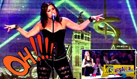 Σκίζει τα ρούχα της μπροστά στους κριτές, και αυτό που ακολούθησε είναι μοναδικό!