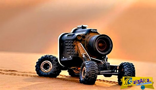 Tοποθέτησε μια φωτογραφική μηχανή σε ρομπότ και το οδήγησε σε μια αγέλη λιονταριών - Δείτε το αποτέλεσμα!