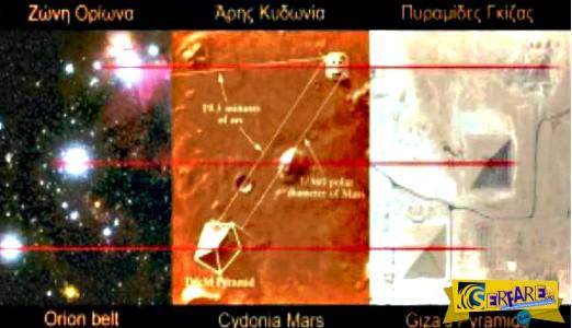 Η μυστηριώδης σύνδεση των αρχαίων δομών με τον αστερισμό του Ωρίωνα!