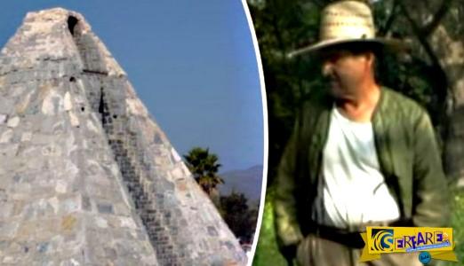 Μεξικανός έχτισε πυραμίδα στην έρημο ύστερα από εντολή εξωγήινου!