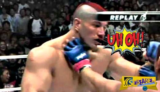 Φοβερά νοκ άουτ σε αγώνες MMA