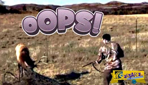 Κυνηγός πυροβόλησε έναν τάρανδο με την καραμπίνα του, αλλά δεν φαντάζεστε το λόγο!