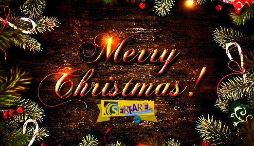 Χρόνια Πολλά! Καλά Χριστούγεννα με Υγεία, αγάπη και χαρά για όλο τον κόσμο!