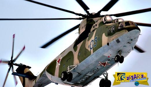 Το μεγαλύτερο ελικόπτερο του κόσμου Mi-26