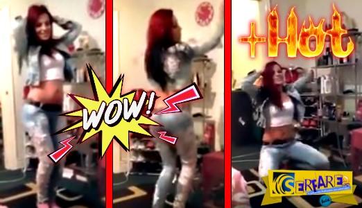 Οι φίλες της την τραβούσαν βίντεο να χορεύει τσιφτετέλι...και με την σωματάρα κατέρρευσε το youtube!