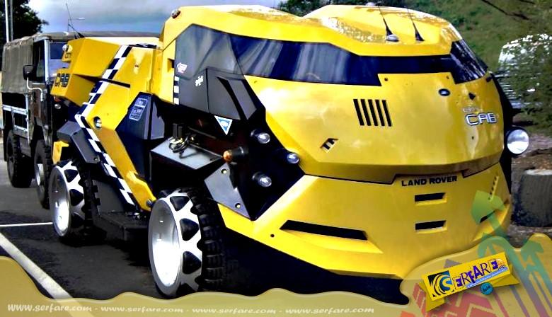 Τα πιο πρωτότυπα και παράξενα οχήματα στον κόσμο!