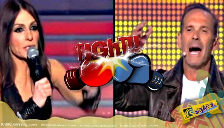 Εμφανίστηκε μετά από καιρό η Άσπα Τσίνα στην TV και έγινε ο κακός χαμός! Επικός καβγάς με Κωστόπουλο!