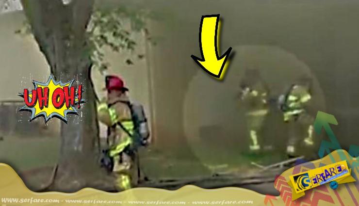 Ήρωας πυροσβέστης πιάνει στον αέρα παιδί που έπεσε από φλεγόμενο κτήριο!