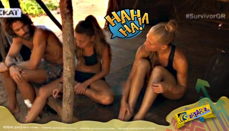 """Survivor: Η """"ποvηρή"""" ατάκα του Σπαλιάρα σε Σάρα και Ελισάβετ! - Πως αντέδρασαν τα κορίτσια ..."""