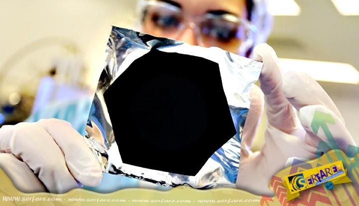 Vantablack: Το υλικό που απορροφά όλο το ορατό φως!