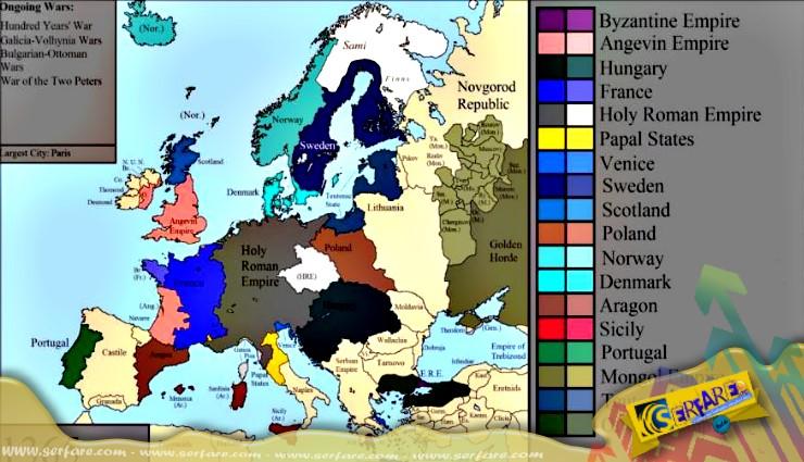 Ολόκληρη η ιστορία της Ευρώπης και των πολιτισμών της σε 10 λεπτά!