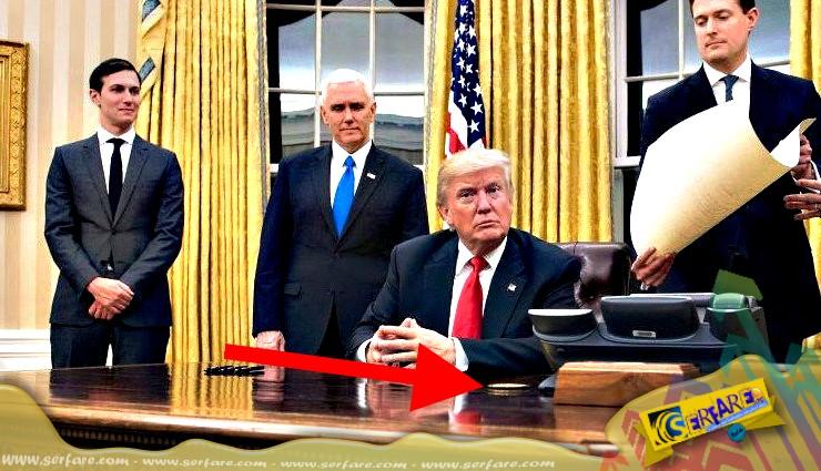 Τι θα συμβεί αν ο Τραμπ πατήσει το κόκκινο κουμπί που έχει πάνω στο γραφείο του;