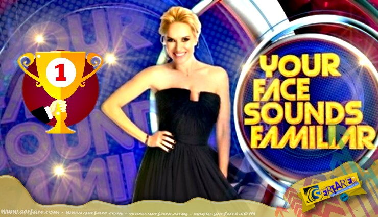 Your Face sounds familiar 4 14-05-2017 Νικητής – Εμφανίσεις #Yfsf_Ant1