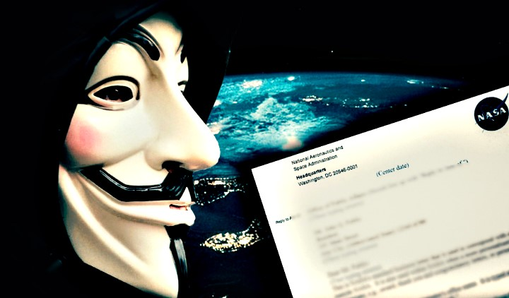 Anonymous: Η NASA ετοιμάζεται να ανακοινώσει την ύπαρξη εξωγήινης ευφυούς ζωής!