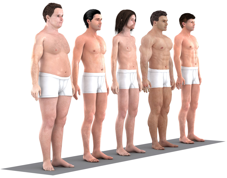 Ανδρικό σώμα: Οι αλλαγές στην εικόνα του τα τελευταία 150 χρόνια!