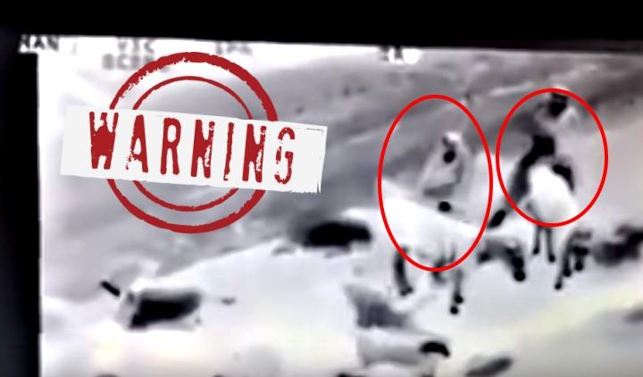 Αμερικανικό drone εντοπίζει δύο μουσουλμάνους σε «ερωτικές» περιπτύξεις με… κοπάδι προβάτων!