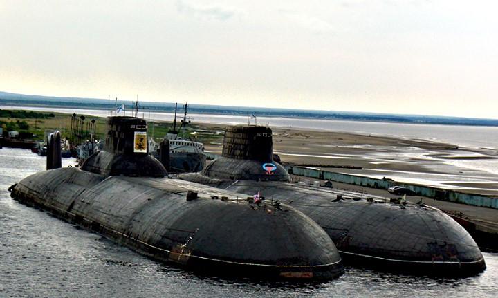 Ο φόβος των θαλασσών - Τα πυρηνοκίνητα υποβρύχια Typhoon της Ρωσίας!