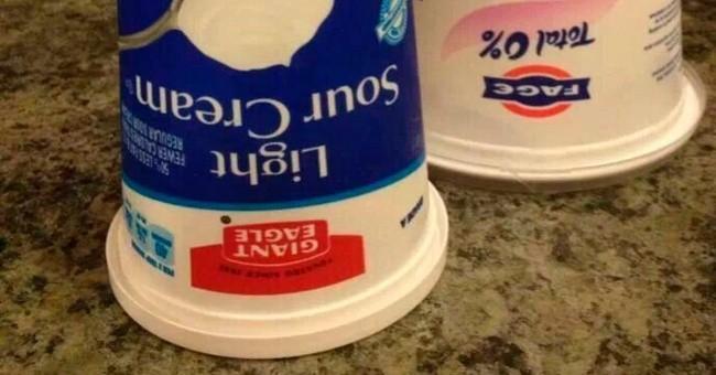 Το γνώριζες; Γιατί πρέπει να βάζεις ανάποδα τα γιαούρτια στο ψυγείο;