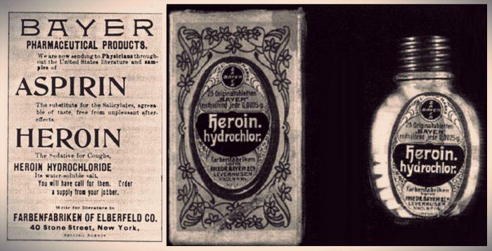 Η ηρωίνη κυκλοφόρησε αρχικά ως ένα μη εθιστικό σιρόπι για τον βήχα!