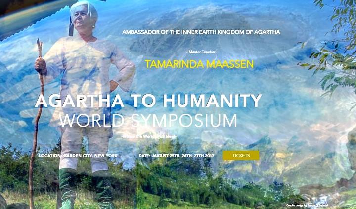 Η πρέσβειρα της Κούφιας Γης - Αγκάρθα θα μιλήσει στην ανθρωπότητα για πρώτη φορά!