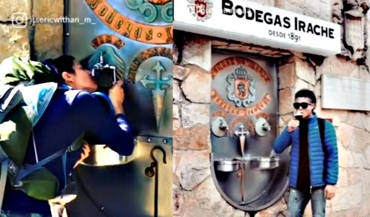 Βρύση στάζει... κρασί στην Ισπανία! (video)