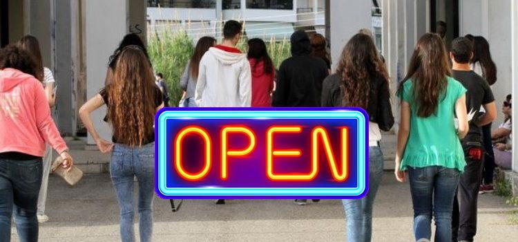 Πότε ανοίγουν τα σχολεία 2018;