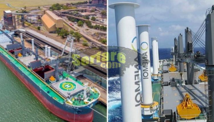 Η Ελληνική εταιρία κατασκεύασε το πρώτο πλοίο που κινείται με αιολικής ενέργειας