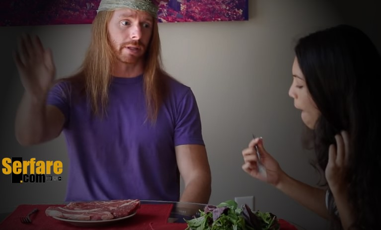Αυτό το βίντεο δείχνει πως θα ήταν αν οι κρεατοφάγοι συμπεριφέρονταν σαν vegan!